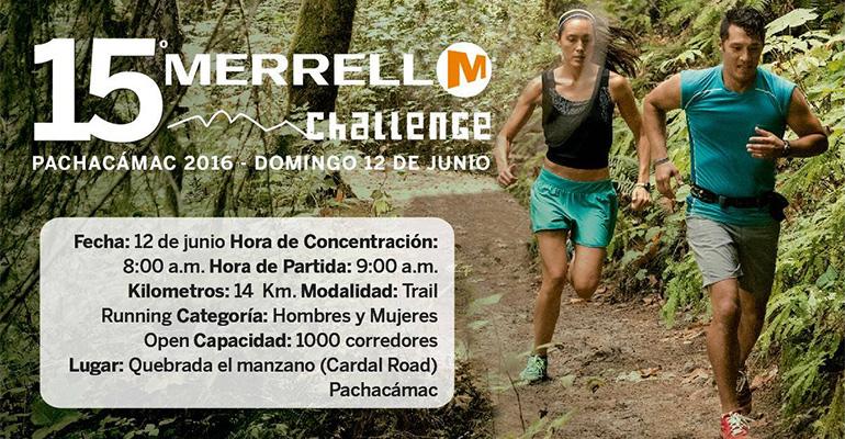 Merrell Challenge Pachacamac 2016