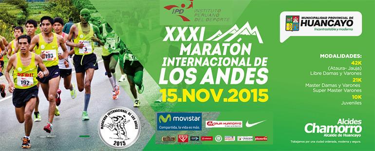 XXXI Maraton Internacional de Los Andes 2015