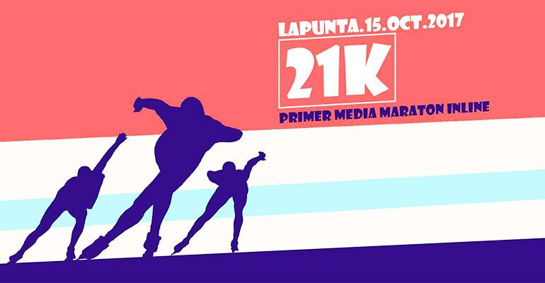 Media Maratón en Patines La Punta 2017