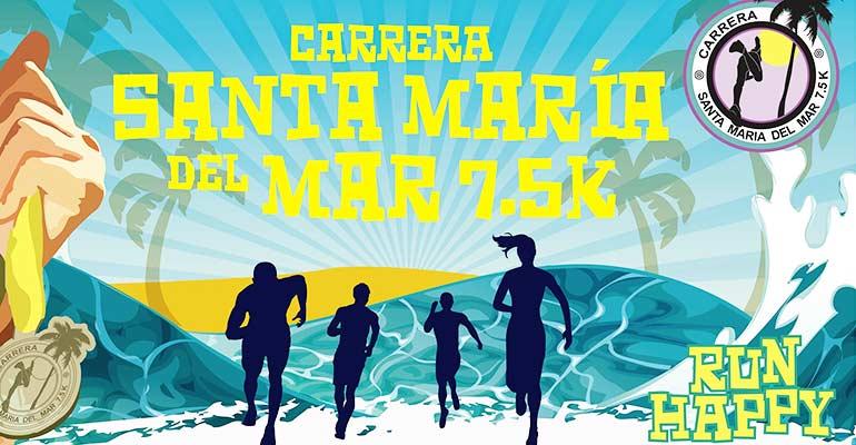 XVII Carrera Santa María del Mar 7.5K 2018