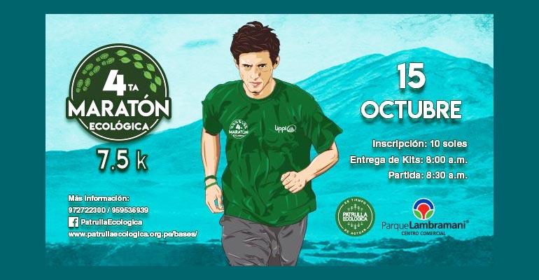 IV Maratón Ecológica 7.5K 2017