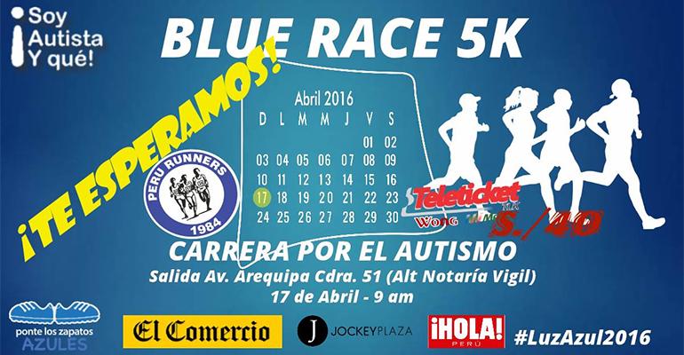 Blue Race 5K 2016 (Carrera Por El Autismo)