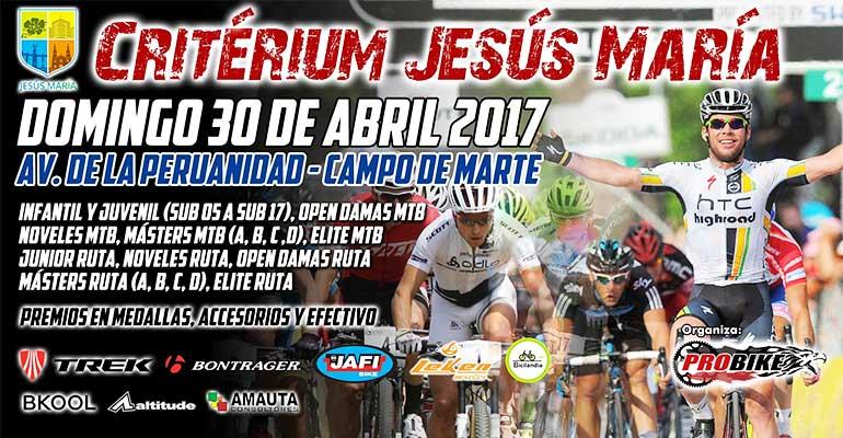 Critérium Jesús María 2017