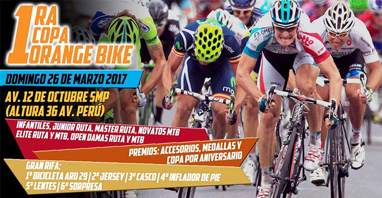 Primera Copa Orange Bike Perú 2017