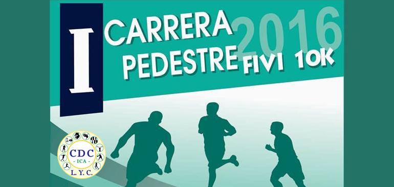 I Carrera Pedestre FIVI 10K Ica 2016