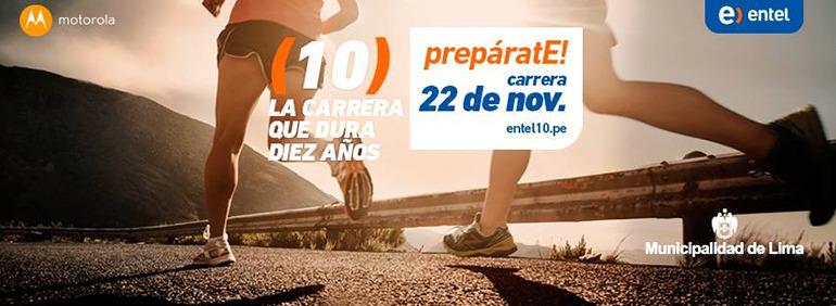 Entel 10K Peru - 2015
