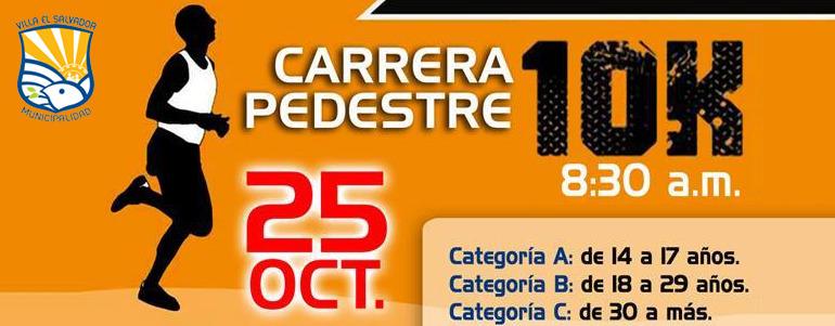 Carrera Villa El Salvador 10K 2015