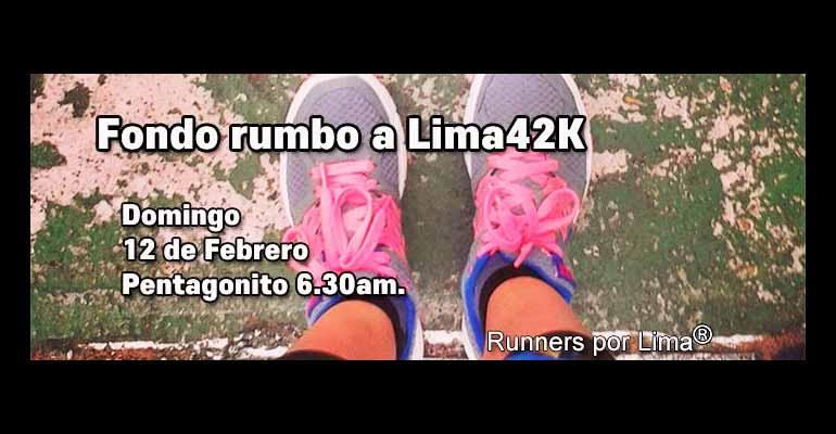 Runners Por Lima - Sexto Fondo De Entrenamiento Para Lima 42K 2017