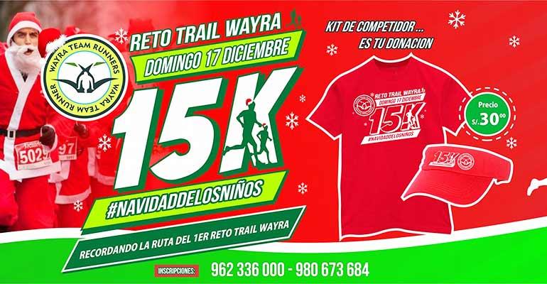 Segundo Reto Trail Wayra 15K 2017