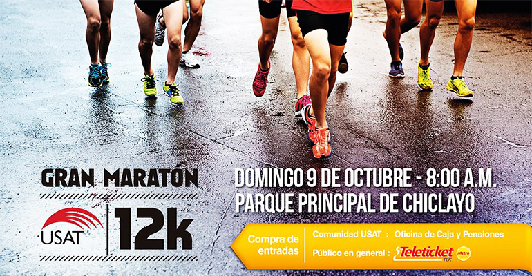 Gran Maratón USAT 12K 2016