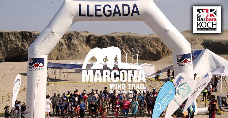 Team BK - Primer Entrenamiento Marcona Wind Trail 2016