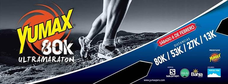 Yumax 80K Ultramaratón 2016