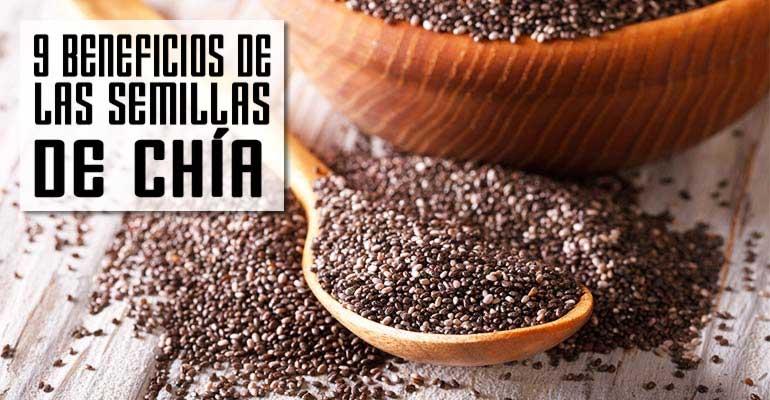 9 Increíbles Beneficios de las Semillas de Chía