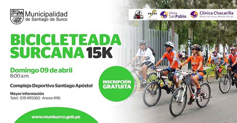 Bicicletada Surcana 15K 2017