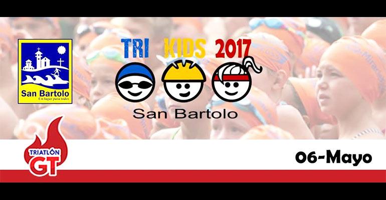Triatlón Kids San Bartolo 2017