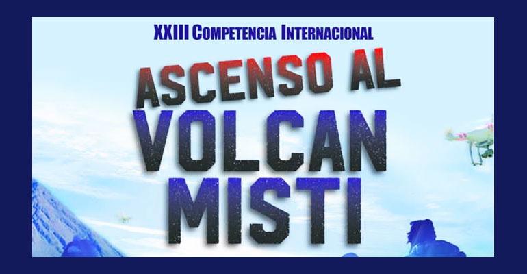 Competencia Internacional del Ascenso al Misti 2017