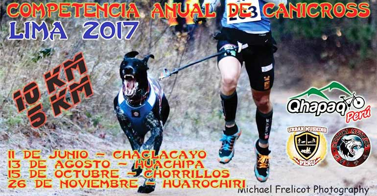 Primera Fecha Canicross Lima 2017 - Chaclacayo