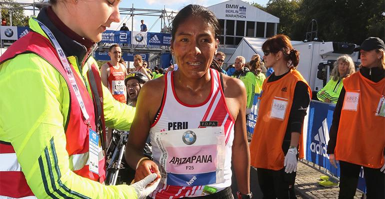 Wilma Arizapana clasificó a los Juegos Olímpicos de Río 2016
