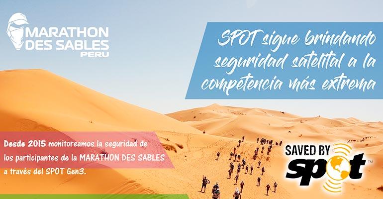 Marathon Des Sables: 300 competidores usarán equipos satelitales de rastreo (SPOT) para su seguridad