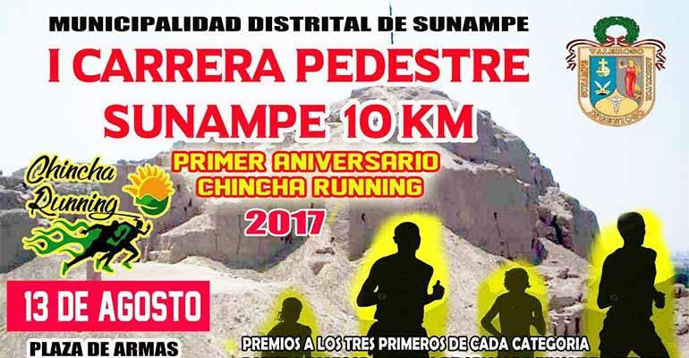 Carrera Pedestre Sunampe 10K 2017