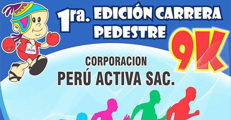 Carrera Pedestre Peru Activa 9K 2017