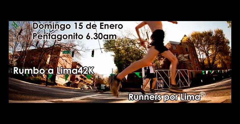 Runners Por Lima - Segundo Fondo De Entrenamiento Para Lima 42K 2017