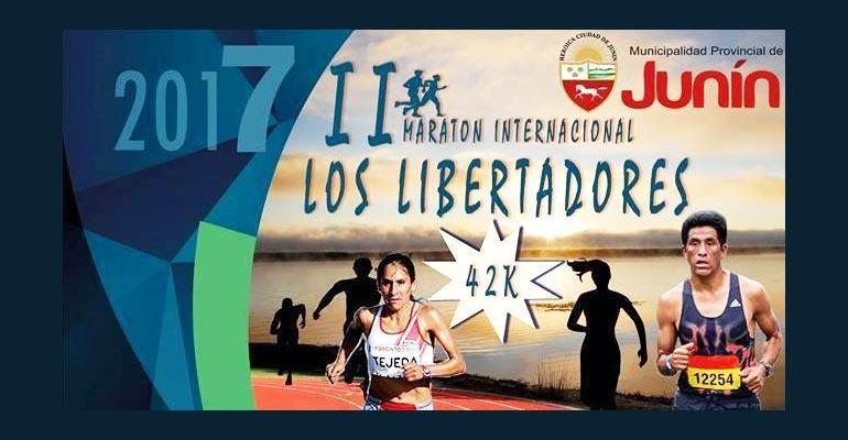 Maratón Internacional Los Libertadores 42K 2017