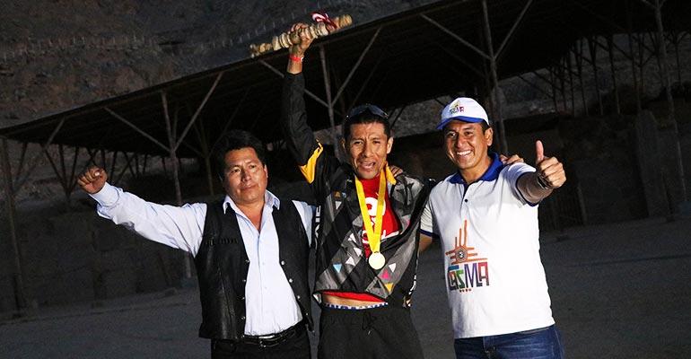 Ciclismo: José Del Cid gana la Primera Edición del Génesis Inka MTB