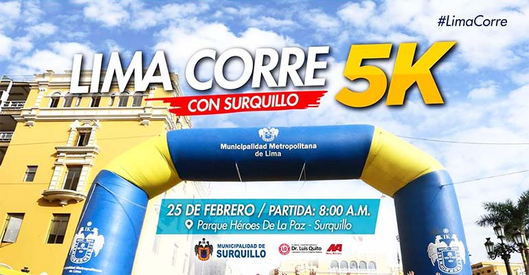 Lima Corre con Surquillo 5K 2018