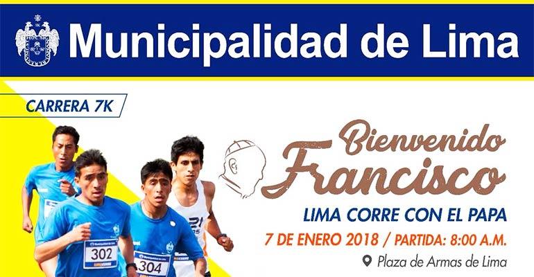 Lima Corre con El Papa 7K 2018