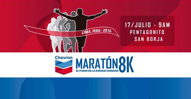 Maratón Chevron 8K 2016