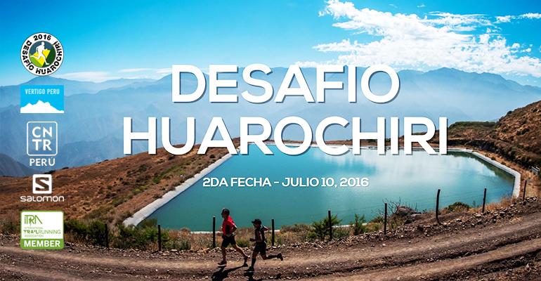 IX Desafío Huarochirí 2016 - Segunda Fecha