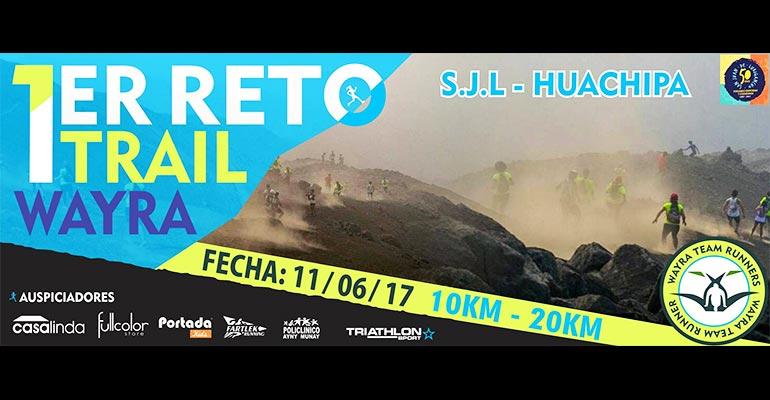 Primer Reto Trail Wayra 2017