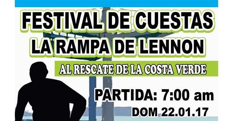 Festival De Cuestas La Rampa de Lennon 2017