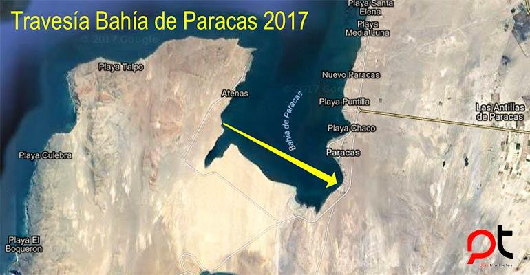 Travesía Bahía de Paracas 2017