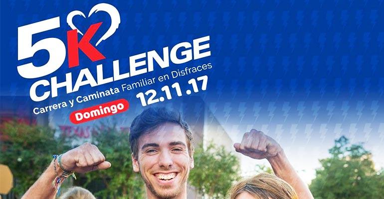 Todo listo para la Tercera edición del 5K Challenge - Perú Generoso