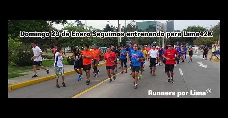 Runners Por Lima - Cuarto Fondo De Entrenamiento Para Lima 42K 2017
