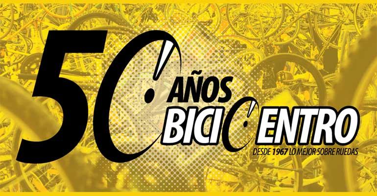 Bicicleteada 50 Años BiciCentro 2017