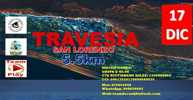 Travesía San Lorenzo - La Punta 2017