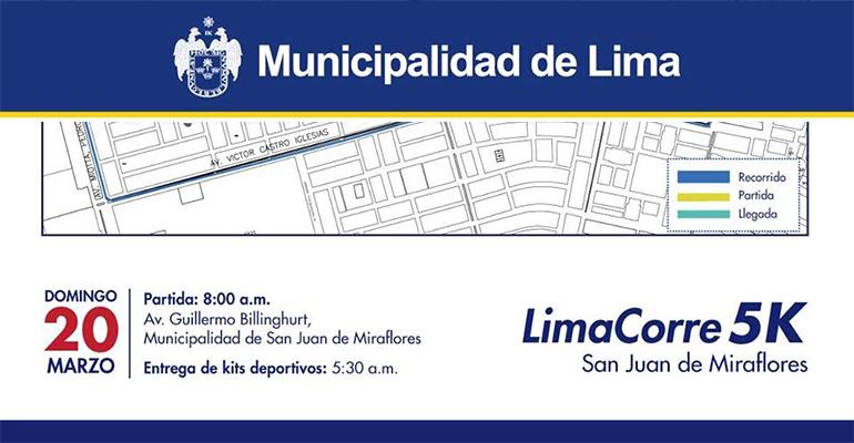 Lima Corre San Juan de Miraflores 5K 2016