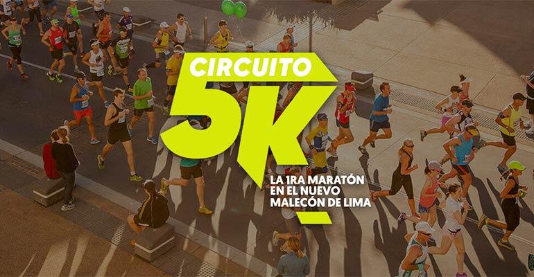 Circuito 5K de la Nueva Costanera 2018