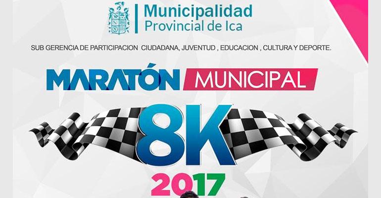 Maratón Municipal Ica 8K 2017