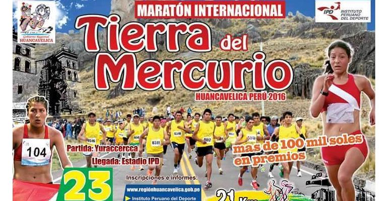 """Maratón Internacional """"Tierra del Mercurio"""" Huancavelica"""
