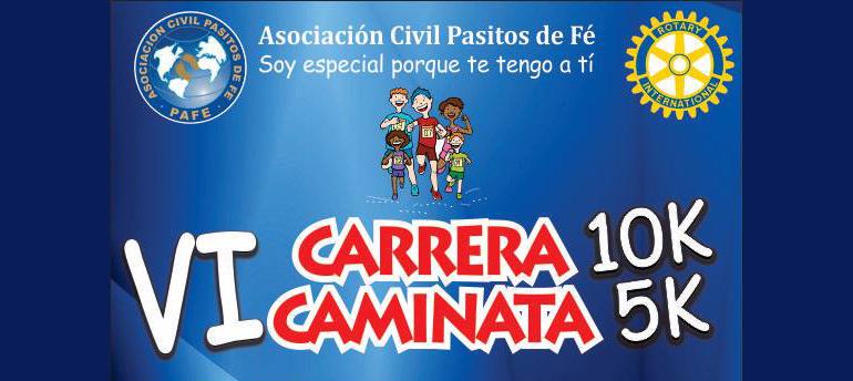 VI Carrera 10K y Caminata 5K Pasitos de Fe 2016