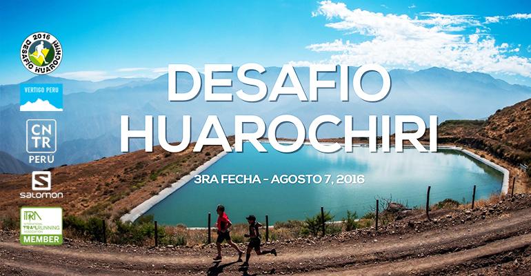IX Desafío Huarochirí 2016 - Tercera Fecha