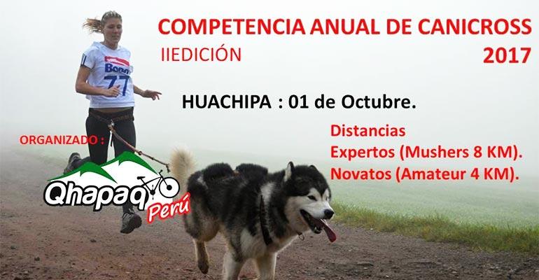 Segunda Fecha Canicross Lima 2017 - Huachipa