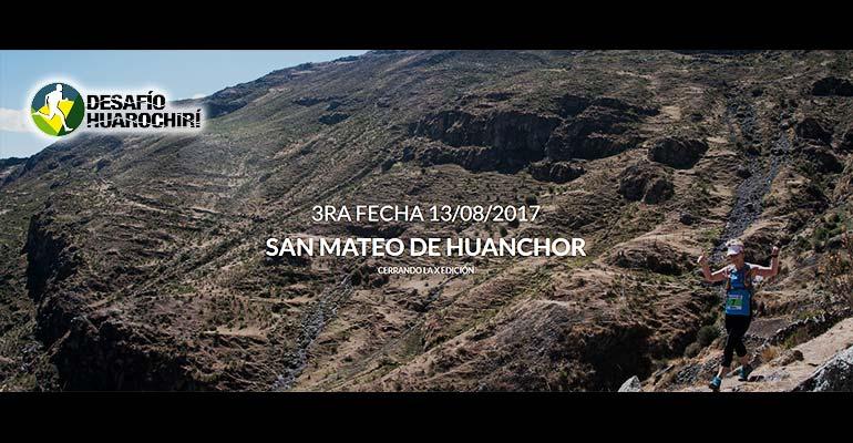 X Desafío Huarochirí 2017 - Tercera Fecha