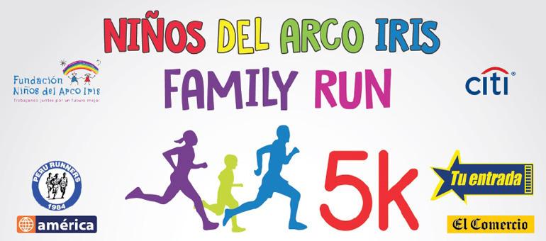 Niños del Arco Iris Family Run 5K 2015