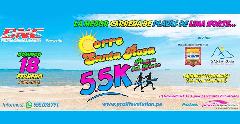 Corre Santa Rosa 5K 2018