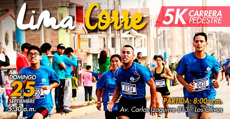 Lima Core Con Los Olivos 5K 2016